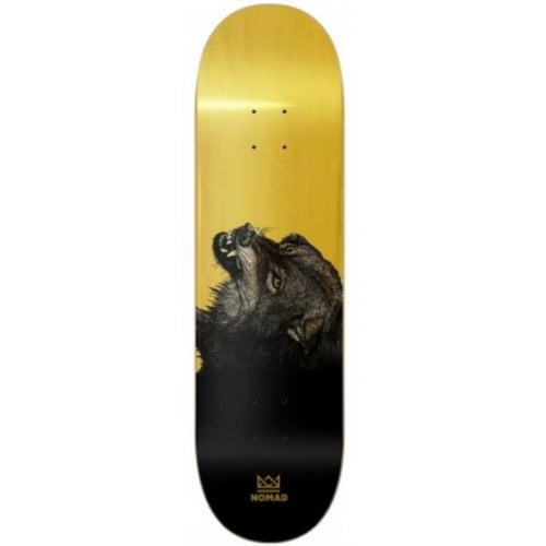 Nomad Deck: The Wolf Deck - Gold 8.5