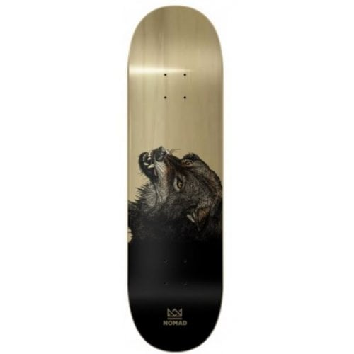 Nomad Deck: The Wolf Deck - Wood 8.13