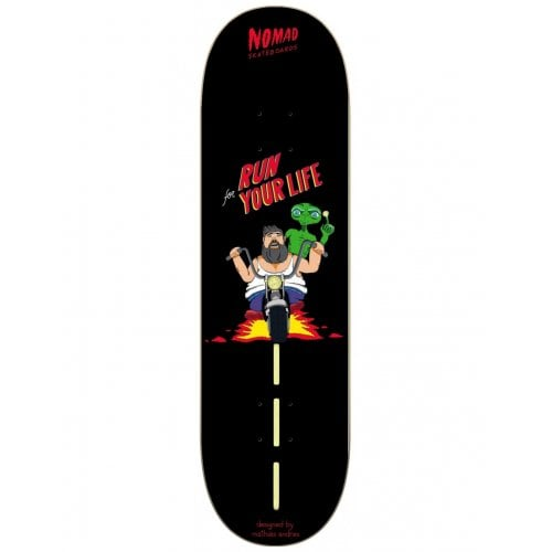 Nomad Deck: Role Models II Run For Your Life NMD1 8.25
