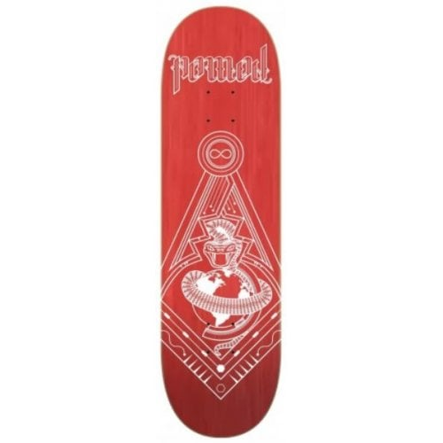 Nomad Deck: Take Over - Red NMD3 8.25