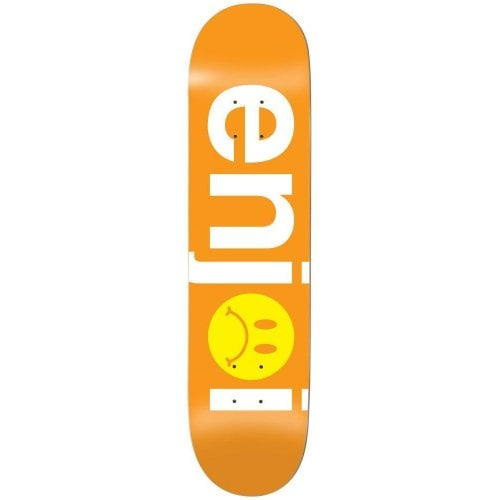 Enjoi Deck: Frowny Face No Brainer HYB 8.125