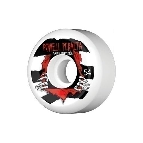 Powell Peralta Wheels: Park Ripper White (54 mm)