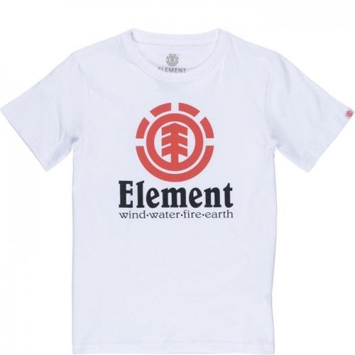 Element T-Shirt: Vertical SS Optic White WH