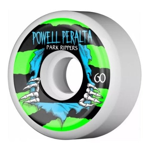 Powell Peralta Wheels: Park Ripper White 2 PF (60 mm)