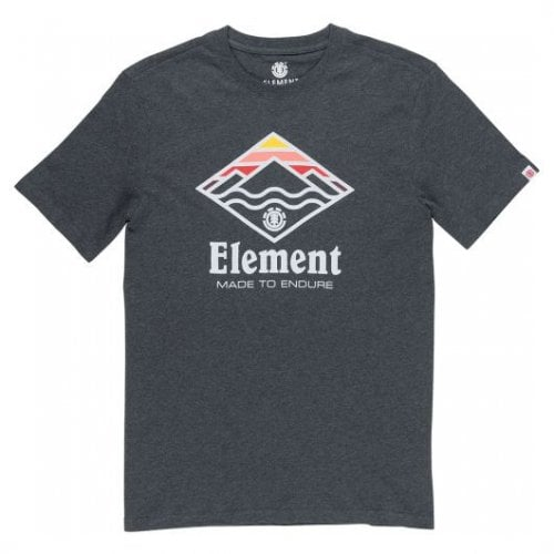 Element T-Shirt: Layer SS Charcoal Heather GR