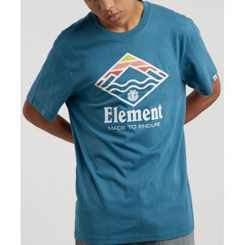 Element T-Shirt: Layer SS Blue Steel BL