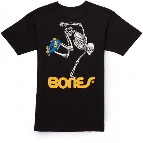 Powell Peralta T-shirt: Skateboard Skeleton BK