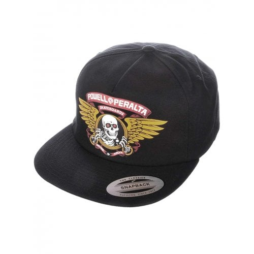 Powell Peralta Cap: Winged Ripper BK