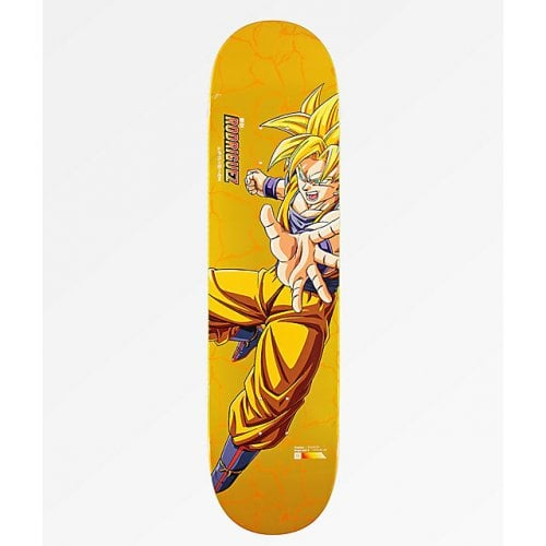 Primitive Deck: Dragon Ball Z _ Super Saiyan Goku Rodriguez Reflective 8.5