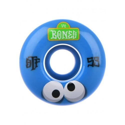 Bones Wheels: STF Googly Blues V4 (53mm)