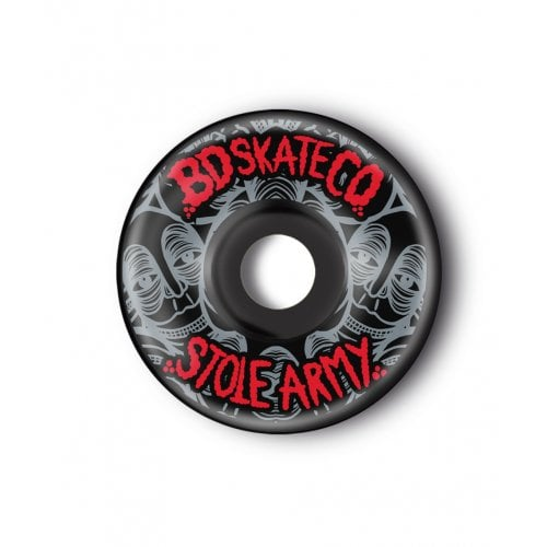 BDSkateCO Wheels: Stole Army Black (54 mm)