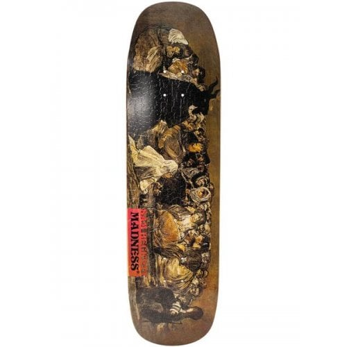 Madness Skateboarding Deck: Disease Beckett R7 8.7