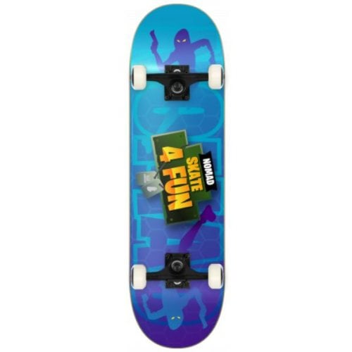 Nomad Commplete Skate: No-Skate4fun Skin 7.75