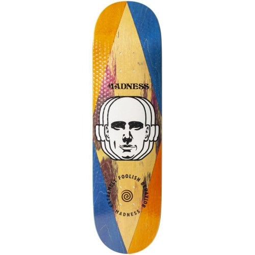 Madness Skateboarding Deck: Factory R7 8.6