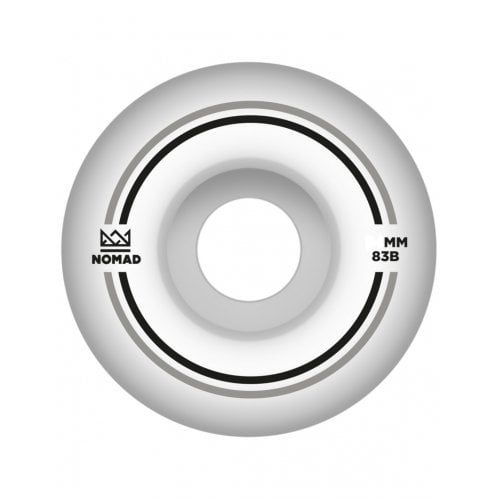 Nomad Wheels: Duets Silver Black (55 mm)