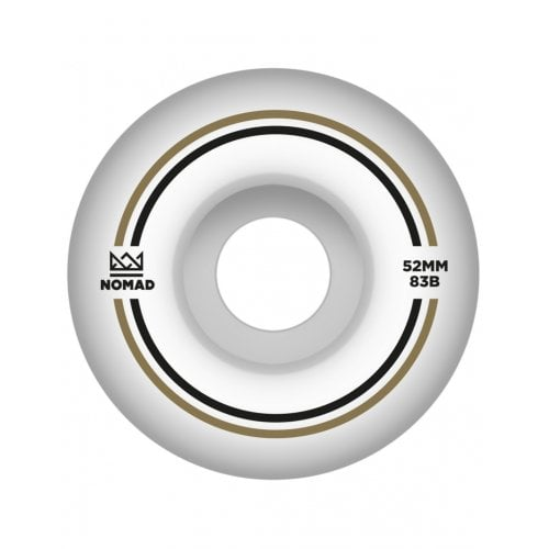Nomad Wheels: Duets Gold Black (52 mm)