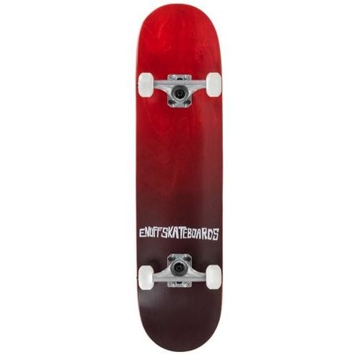 Enuff Complete Skate: Fade Red 7.75