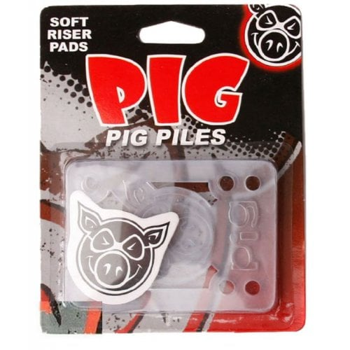 Pig Pads: Piles Soft Riser/Shock Pads Clears 1/8""