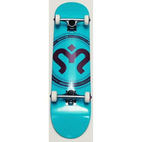 Imagine Complete Skate: Medallion Teal 8.0