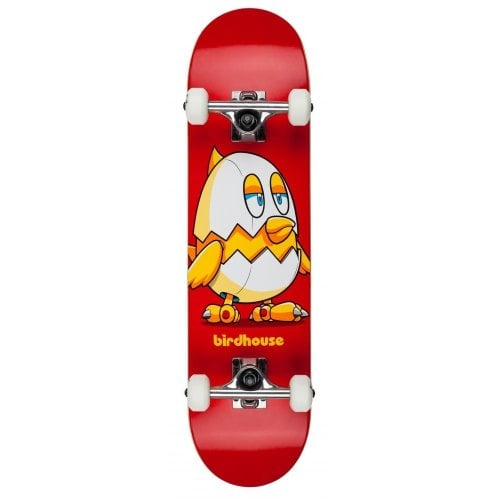 Birdhouse Complete Skate: Stage 1 Chicken Mini Red 7.38