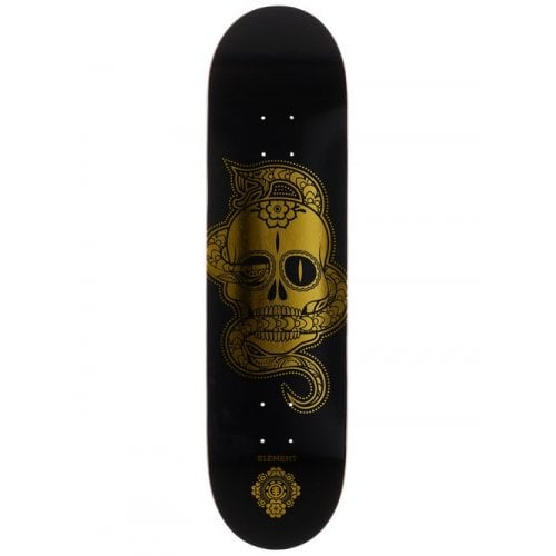 Element Deck: Calavera Black/Gold 8.25