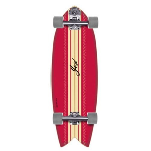 "Complete Longboard Yow: Coxos 31"" Dream Waves Series Surfskate"