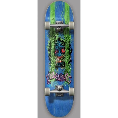 Hydroponic Complete Skateboard: Critter Blue 8.0