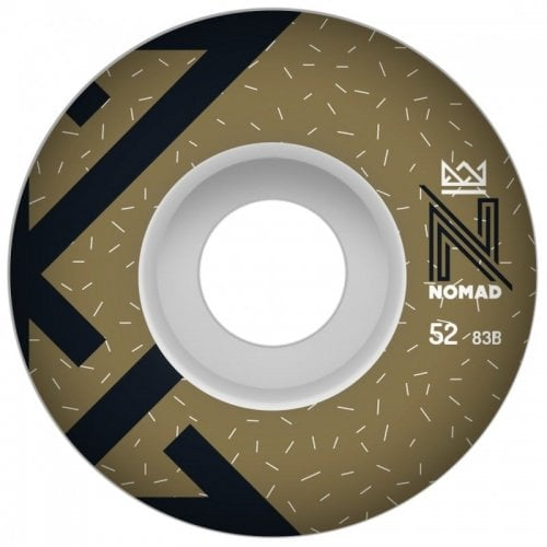 Nomad Wheels: OG Logo Gold (52 mm)