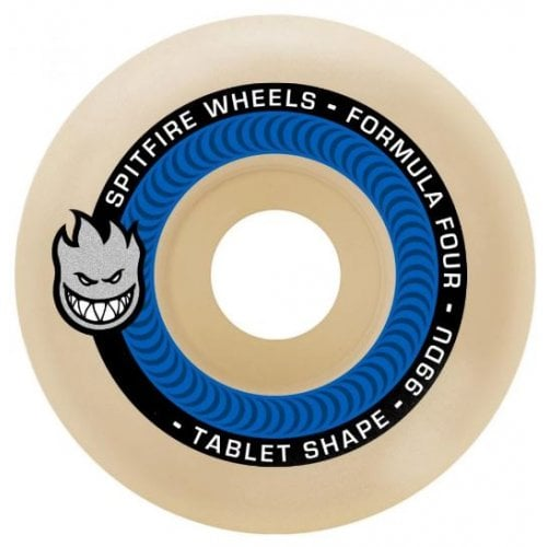 Spitfire Wheels: F4 99 Tablet Natural (53 mm)