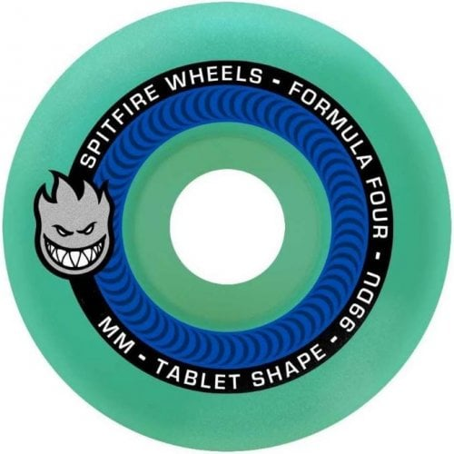 Spitfire Wheels: F4 99 Tablet Ice-Blue (54 mm)