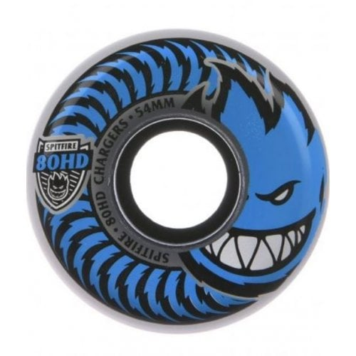 Spitfire Wheels: Chargers Conical Clear 80HD (54mm)