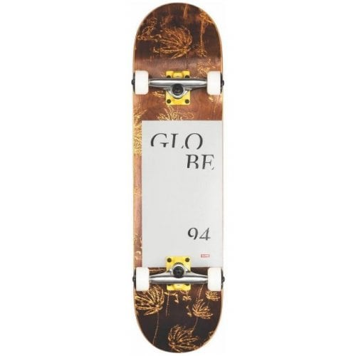 Globe Complete Skate: G2 Typhoon Yellow 8.0