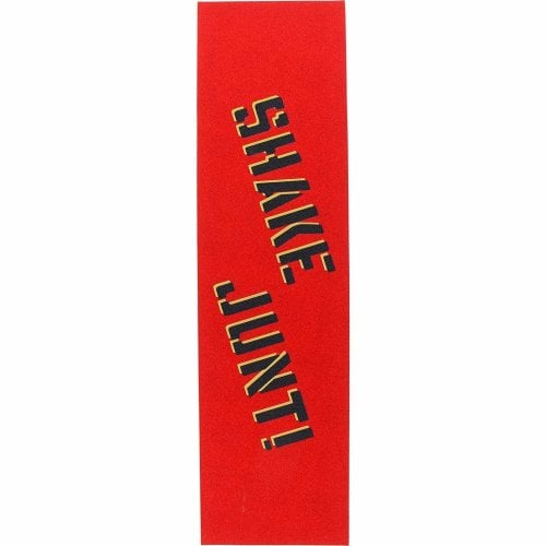Shake Junt Grip: Grip Tape Sheet Red