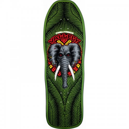 Powell Deck: Vallely Elephant Green 10