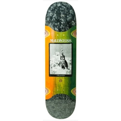 Madness Skateboarding Deck: Remedio Perelson/Blue RIP SLICK R7 8.3