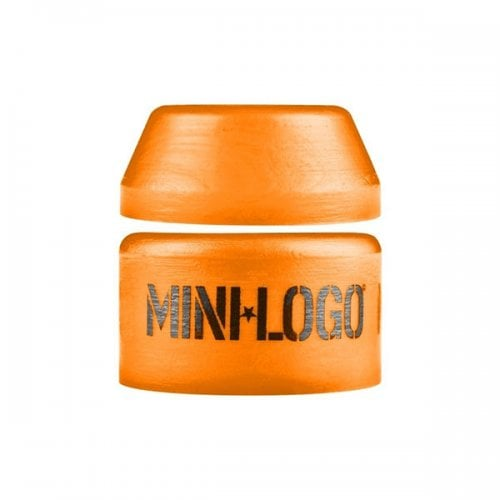Mini-Logo Bushings: Medium Orange 94A