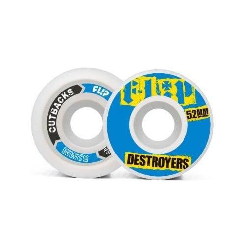 Flip Wheels: Cutback Blue (52 mm)