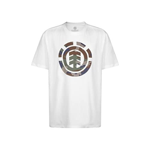 Element T-Shirt: Foundation Icon SS Optic WH