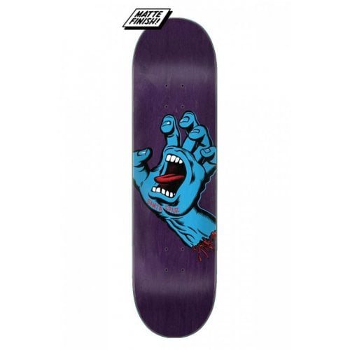 Santa Cruz Skateboards Deck: Screaming Hand 8.375x32