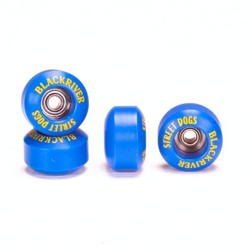 Fingerboards Wheels Blackriver: Street Dogs Blue