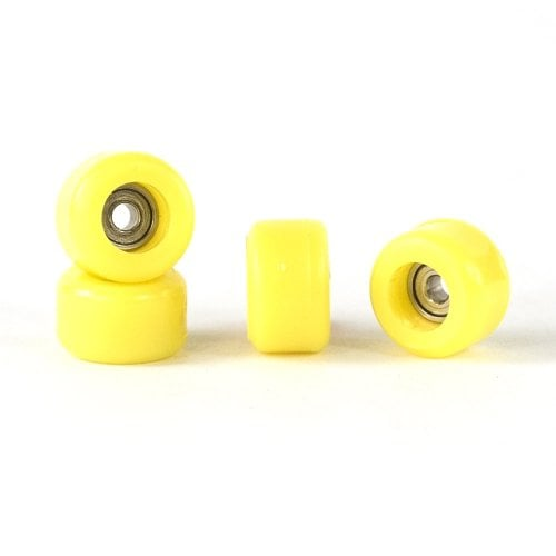 Bollie Fingerboards Bearing Wheels: Yellow