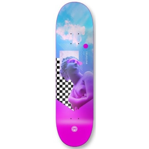 Imagine Skateboards Deck: Future Sinth Chess 8.7