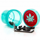 "Diamond Bolts: Hella Tight Hardware Torey Pudwill 7/8"" Blue"