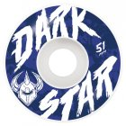 Darkstar Wheels: Chalk White (51 mm)