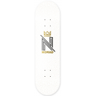 Nomad Deck: OG Logo White DLIGHT 8.0