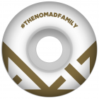 Nomad Wheels: Crown Logo Gold (54 mm)