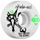 Bones Wheels: Skate-Aid Collab (52mm/103A)