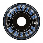 Spitfire Wheels: Old English Black (53 mm)