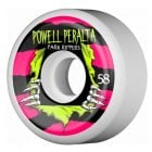 Powell Peralta Wheels: Park Ripper White 2 PF (58mm)