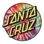 Santa Cruz Stickers: Tie Dye 30 MC